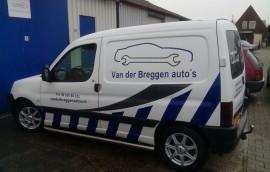 Gratis leenauto bij Van der Breggen auto's